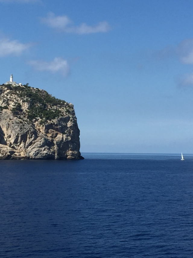 Passing the Cap de Formentor