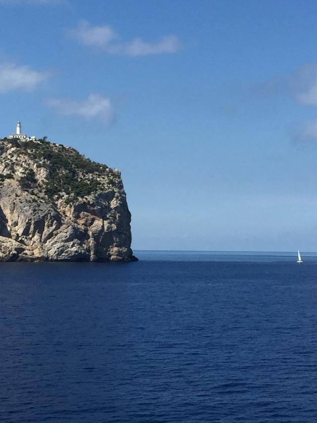 Passing the Cap de Formentor