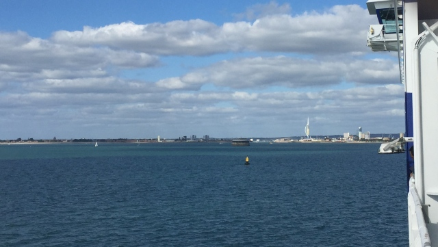 Coming into Portsmouth